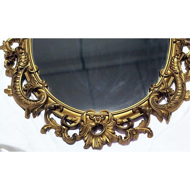 Vintage Rococo-Style Mirror - Image 5 of 6