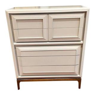 "Vintage ""Gabe"" Tall Tan Dresser"