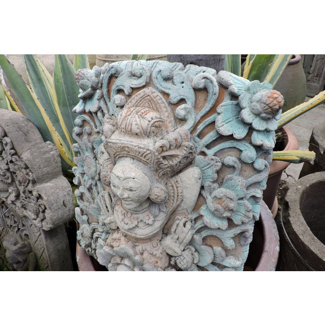 Asian Hand Carved Balinese Water Fountain For Sale - Image 3 of 6