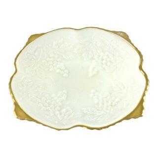 Gold Rim Grape Bowl For Sale