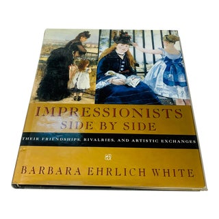 """Impressionists Side by Side"" Large Size Coffee Table Art Book For Sale"