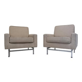 Mid-Century Armchairs by Kasparians - Pair For Sale
