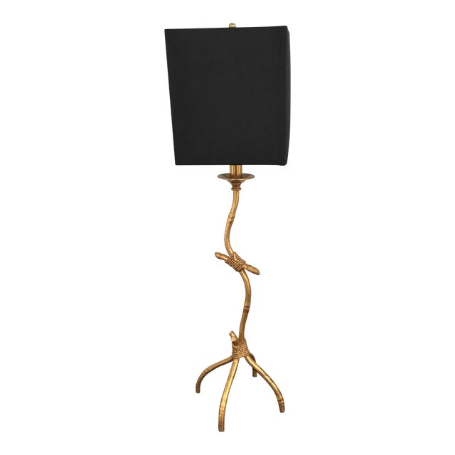 Trompe L'Oeil Chinoiserie Table Lamp - Image 1 of 11