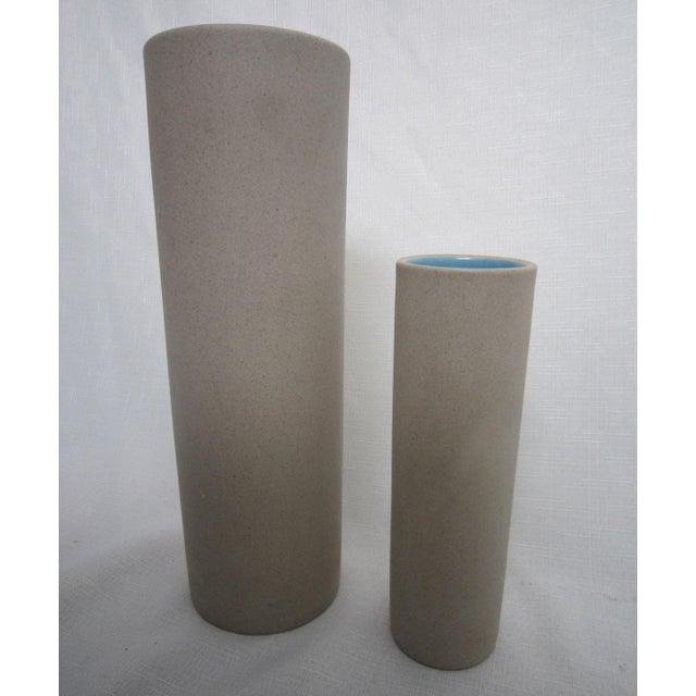 Mid-Century Studio Pottery Vases - A Pair - Image 2 of 4