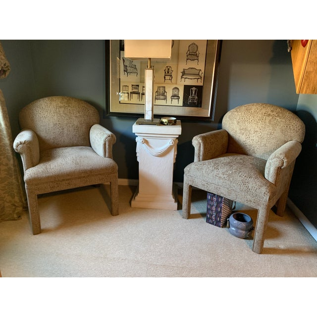 Contemporary Kravet Chairs - a Pair For Sale - Image 9 of 10