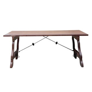 Spanish Colonial Dining Table For Sale