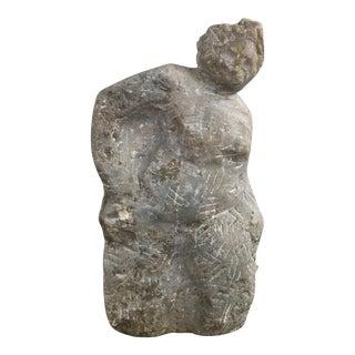 Vintage Figurative Marble Sculpture
