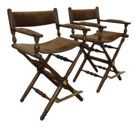 Image of Fabric Directors Chairs