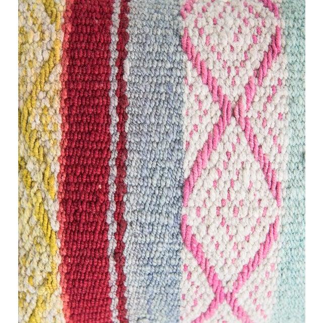 Pastel Peruvian Frazada Pillow - Image 2 of 4
