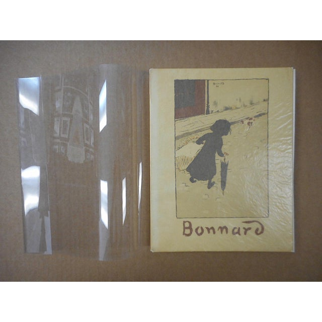 """Vintage Mid Century Illustrated Book-""""Bonnard Lithographie""""-First Edition-Profusely Illustrated For Sale - Image 12 of 12"""