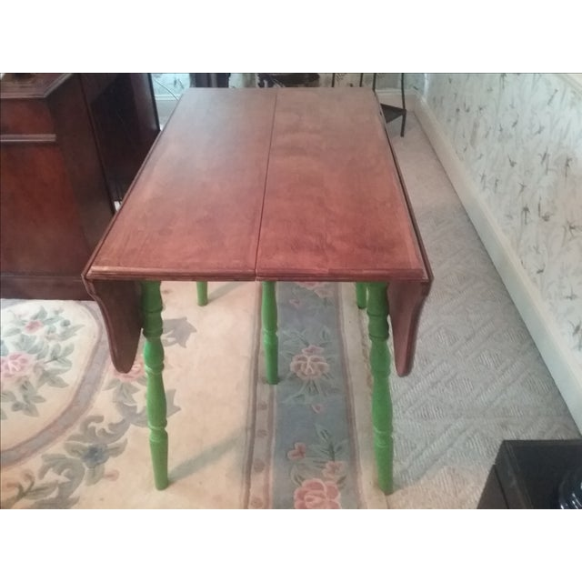 Country Style Drop Leaf Dining Table - Image 3 of 5