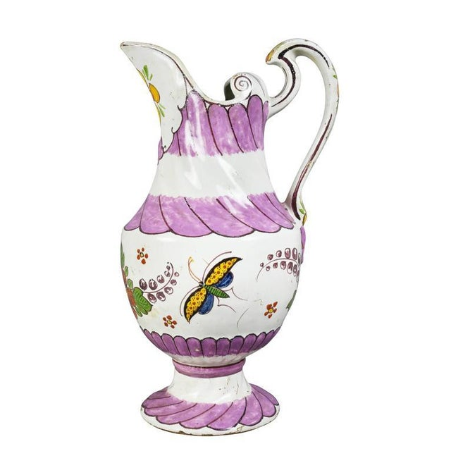 Unusual Delft Pitcher For Sale - Image 10 of 10