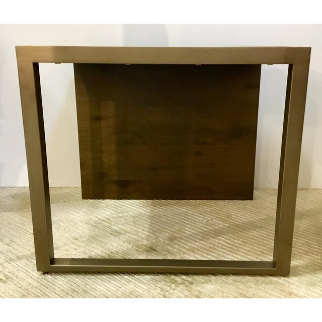 Contemporary Modern Organic Caracole Artisan End Tables Pair For Sale - Image 3 of 8