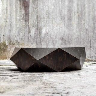Modern Geometric Wood Coffee Table Preview