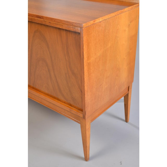 Mid-Century English Walnut Sideboard For Sale - Image 10 of 13
