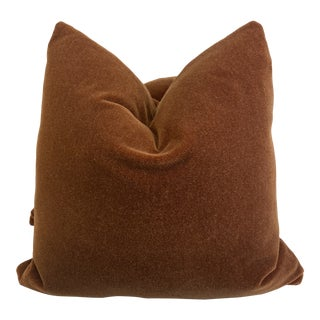 """Kravet Couture """"Windsor Mohair"""" in Harvest 22"""" Pillows-A Pair For Sale"""