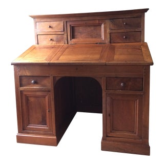 1800's Wood Secretary Desk For Sale
