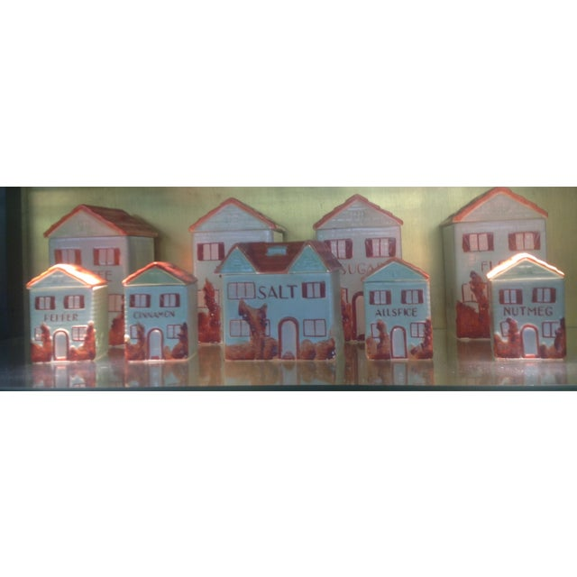 Vintage Mepco Ceramic Jars - Set of 9 - Image 2 of 5