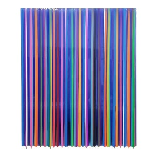 Cathy Choi S1903 Glossy Striped Painting For Sale