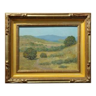 Frank Coburn Impressionist Landscape Oil Painting For Sale