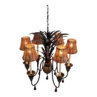 Tasseled Pineapple Chandelier