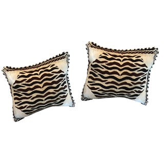 Moroccan Decorative Pillows - A Pair For Sale