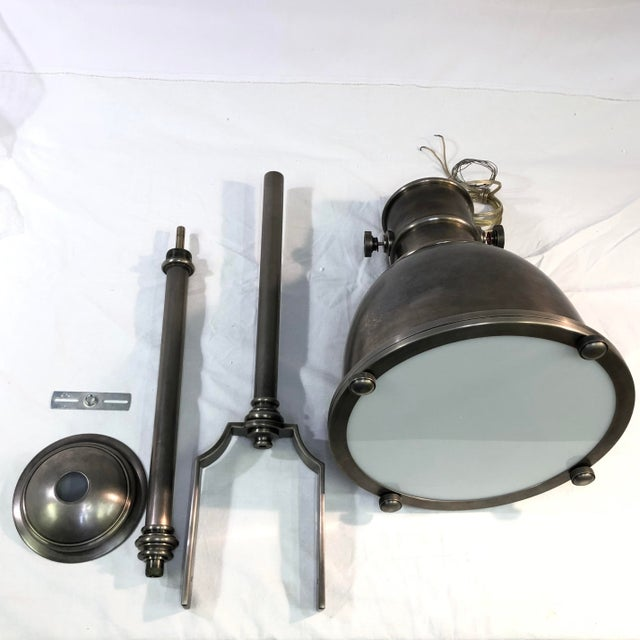 Visual Comfort E. F. Chapman Country Industrial Pendant Ceiling Light For Sale In Washington DC - Image 6 of 13