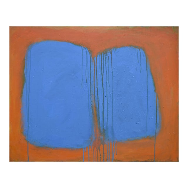 """Stephen Remick """"Comfort"""" Abstract Painting For Sale"""