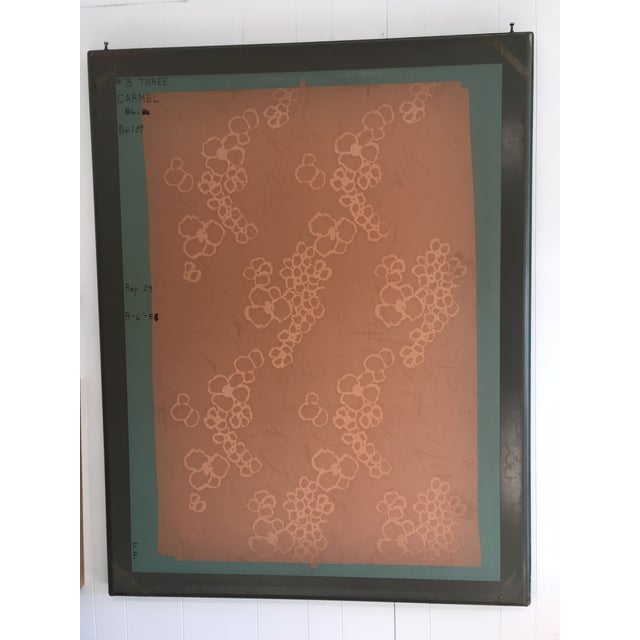 """Mid 20th Century """"Coral #3"""" Screen Press Print For Sale - Image 5 of 5"""