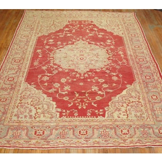 Antique Turkish Oushak Rug - 10′3″ × 13′ Preview