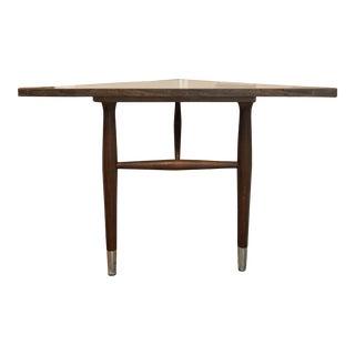 Vintage 1960s Mid Century Modern Compact Corner Desk For Sale