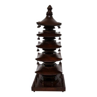 Chinoiserie Wood Pagoda