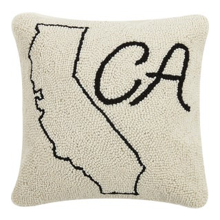 "California Hook Pillow, 14"" x 14"" For Sale"