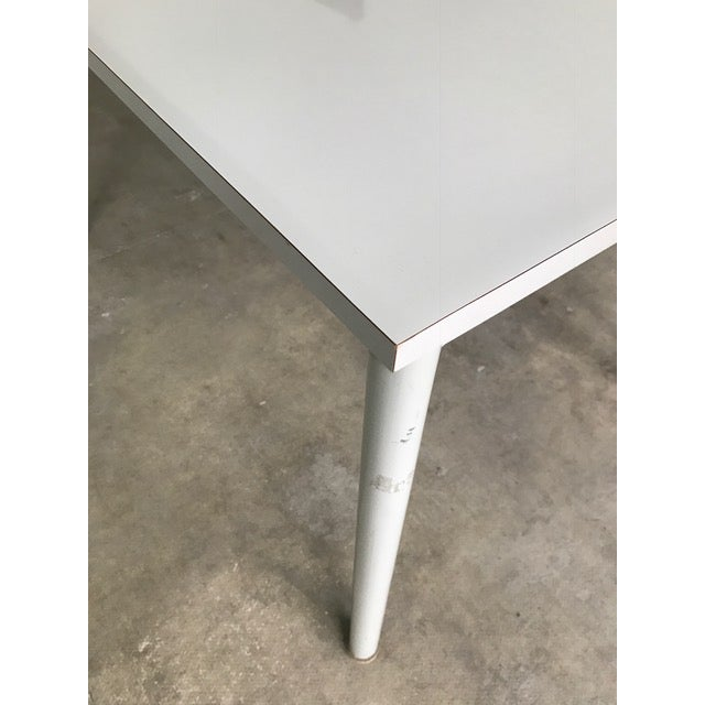 1930s 1935 Le Corbusier Steel & Wood Desk/Table For Sale - Image 5 of 7
