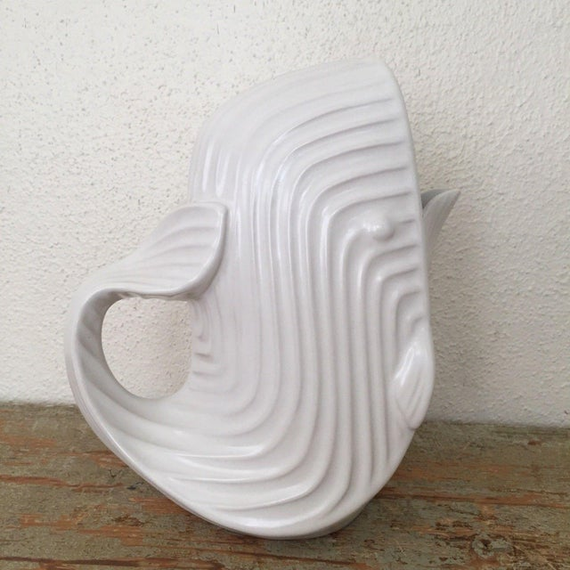 Jonathan Adler Signed White Whale Pitcher - Image 3 of 6