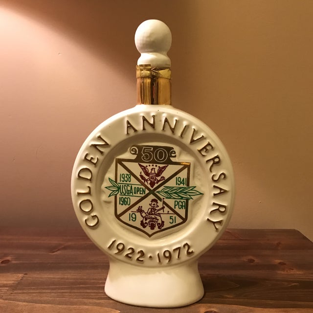 Metal Vintage 1970s Jim Beam Decanter For Sale - Image 7 of 11