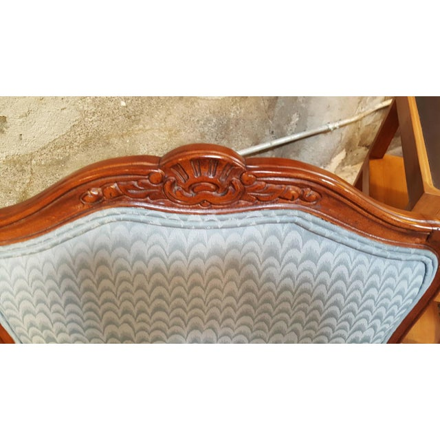 Louis XV Style Bergere Lounge Chairs - Pair - Image 3 of 6