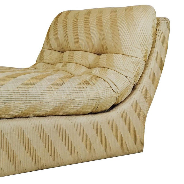 Contemporary Chaise Lounge by Preview For Sale - Image 3 of 5