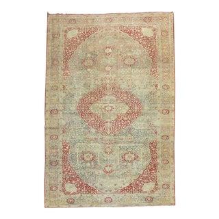 Oversize Antique Kashan, 9'2'' X 17' For Sale