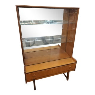 Mid Century China Cabinet by Turnidge For Sale