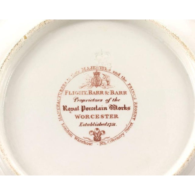 Royal Worcester Worcester Porcelain Dessert Service For Sale - Image 4 of 5