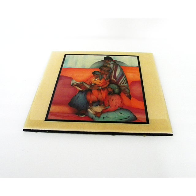 """Amado Pena /""""Los Cuentos/"""" offset lithograph HAND SIGNED Make an Offer!"""