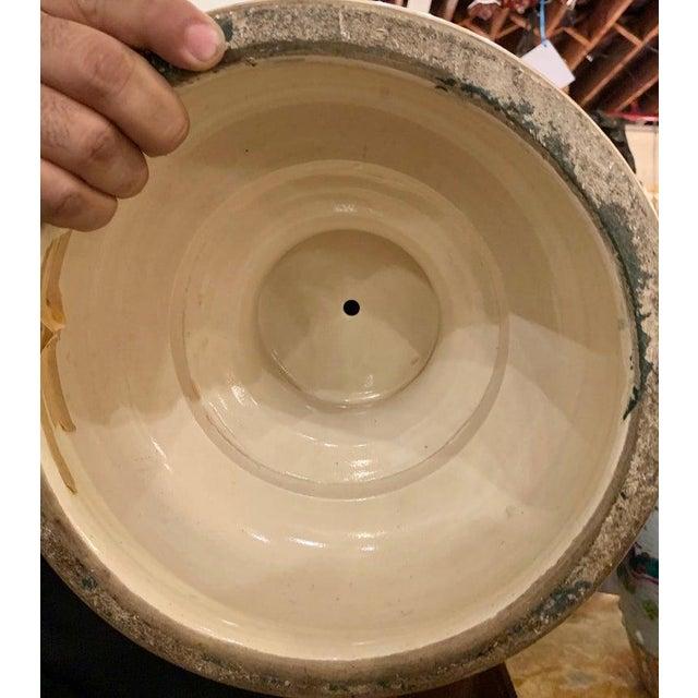Satsuma Thousand Face Vase or Urn Palace Sized Twin Handled For Sale - Image 12 of 13