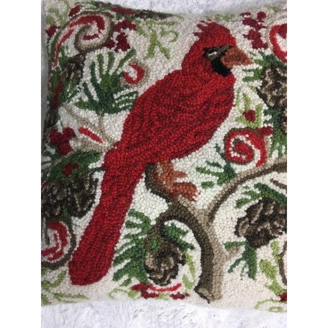 Red Cardinal Hook Pillow - Image 3 of 5