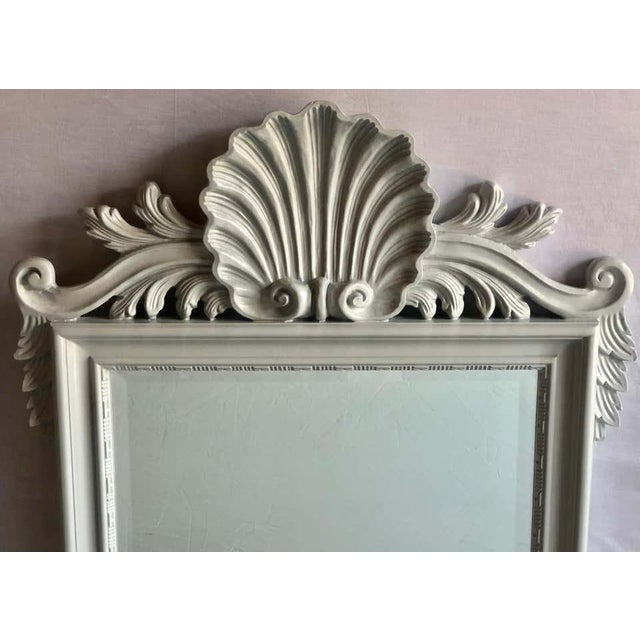 Hollywood Regency Hollywood Regency Labarge Wall or Console Mirrors, Italian - a Pair For Sale - Image 3 of 13
