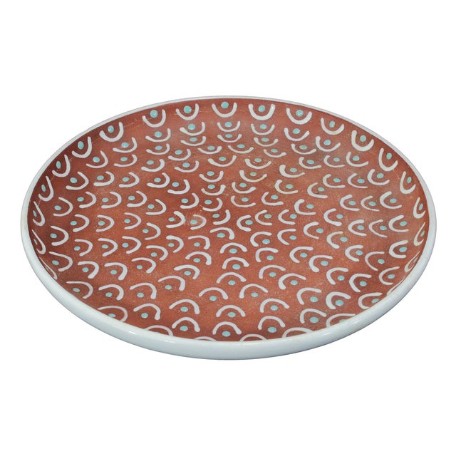 Vintage Danish Ceramic Plate Bowl - Image 2 of 4