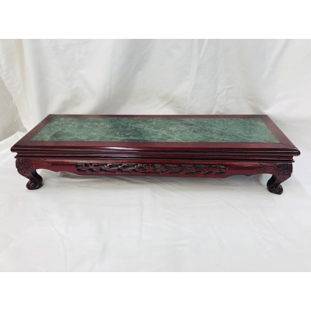 Chinoiserie 1980s Chinoiserie Style Plant Stand For Sale - Image 3 of 10