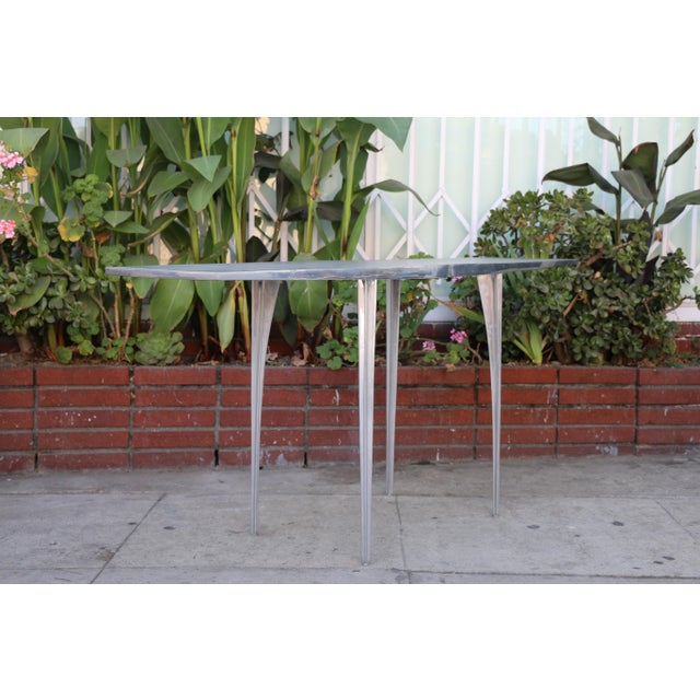 Aluminum Robert Josten Console Table For Sale - Image 9 of 11