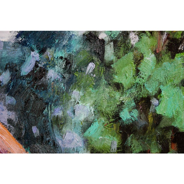 Original Oil Painting Landscape, Fort Bragg California For Sale - Image 9 of 13