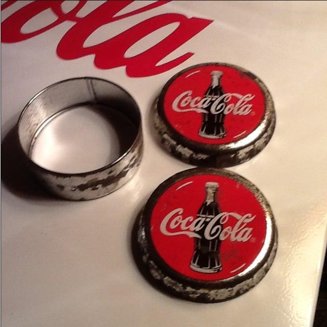 Vintage Coca Cola Cap Tin - Image 6 of 10